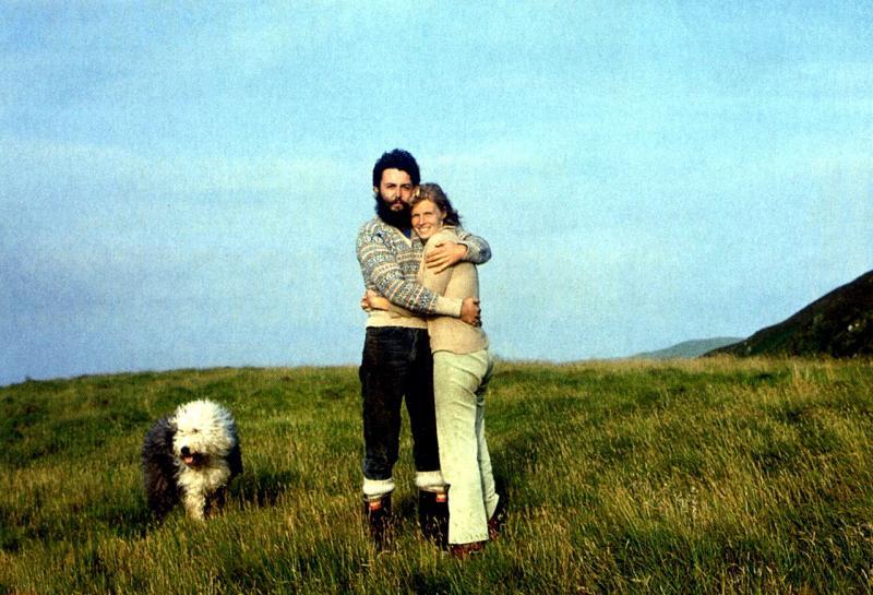 Met Linda, circa 1971