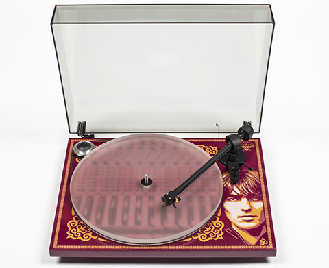 George Harrison Pro-Ject Turntable Product Shot