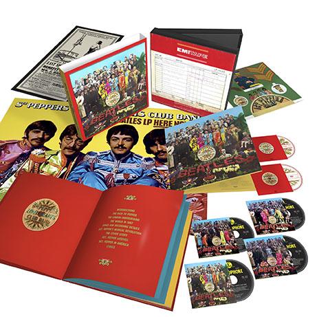 fbThe Beatles Sgt Pepper 6 Disc 3D Product Shot (White Background)