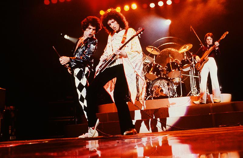 queen live 1977